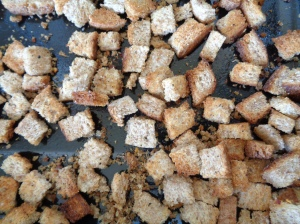 Ready croutons