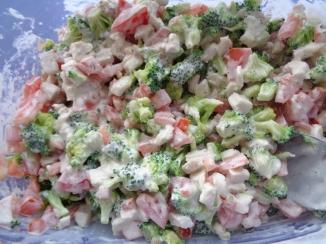 HJ's Broccoli salad