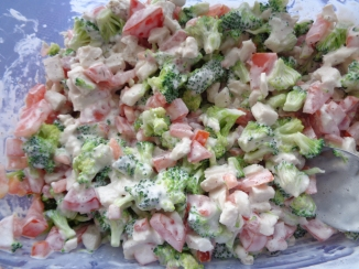 HJ's Broccoli salad