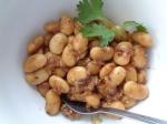 The ginger butter beans