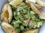 Lettuce, coriander, avocado, lime & chilli flakes