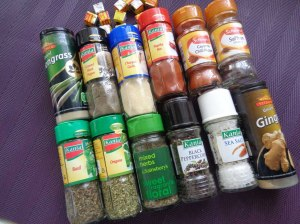 The spice rack