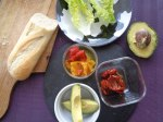 Baguette avocado 1