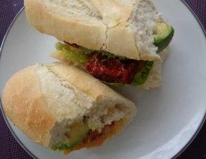 Baguette avocado 5