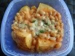 Potato, beans, cheese 5
