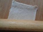 Flattening bread