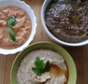 Turkish Meze - 3 dips