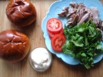 Brioche bun & Turkey sandwich 1
