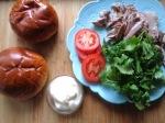 Brioche bun & Turkey sandwich 1