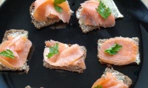 Salmon on Rye