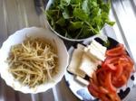 Salad components