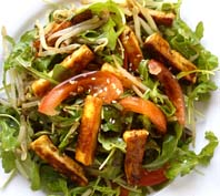 Caramelised Tofu salad