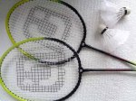 My badminton set