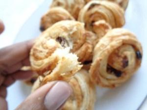 Nutty Pain aux raisins